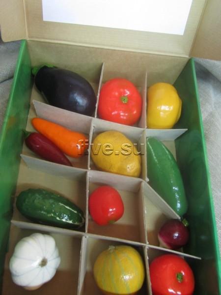 Овощи и фрукты своими руками из подручных материалов 65